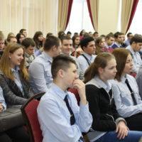 Студенты колледжа посетили праздничное мероприятие в библиотеке им. Горького