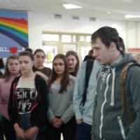 Студенты побывали в библиотеке им. Горького