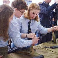 Соревнования в школе «Солдаты Будущего»