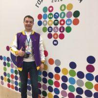 Участие в Международном форуме Добровольцев