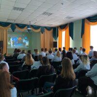 Участие во Всероссийском Открытом уроке «Он сказал: «Поехали!»